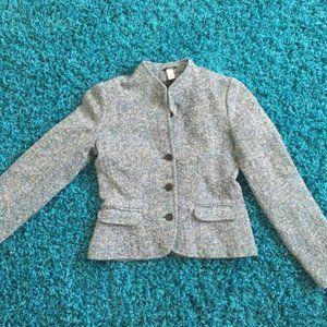 Old Navy Teal Tweed Blazer